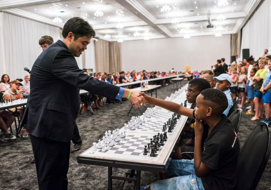 South Africa hosts its biggest simultaneous chess exhibition ever ...