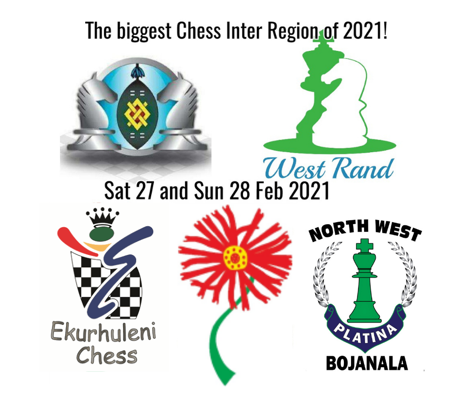 2021 Online Inter Region CLOSED Tournament hosted by Gauteng North Chess